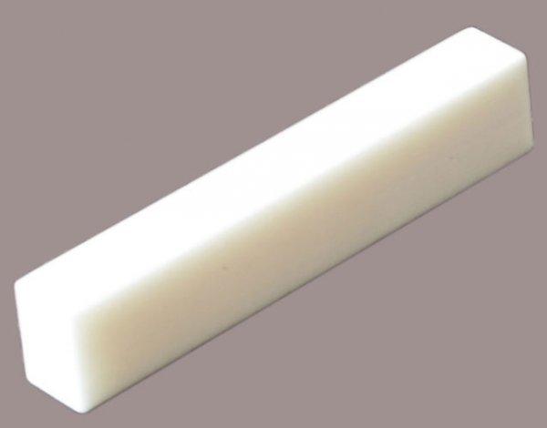Bloco para nut em osso (7mmX12mmX70mm) para violão/guitarra/baixo  - Luthieria Brasil