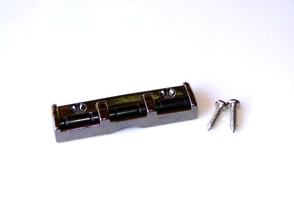 Roller nut cosmo black para guitarra (43mm)  - Luthieria Brasil