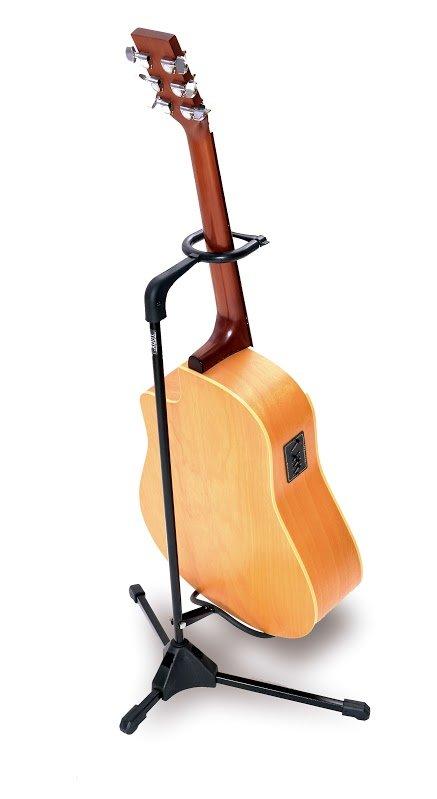 Suporte portátil para instrumento de corda (com trava) (Modelo GT1) - Ibox  - Luthieria Brasil