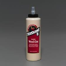 Cola Titebond II Dark Wood Glue - 473ml  - Luthieria Brasil