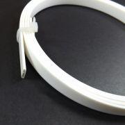 Binding (filete) cor branca (160cm x 10mm x 1,5mm)