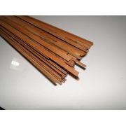 Binding (filete) em madeira Maracatiara - 80cm x 7mm x 1,8mm (2 peças)
