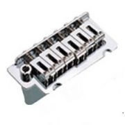 Ponte Cromada Tremolo 2 pivôs para Guitarra (Bloco 36 mm) - Sung-il (BS002)