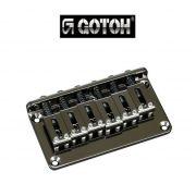 Ponte Cosmo Black Fixa para guitarra - Gotoh (GTC101-CK)