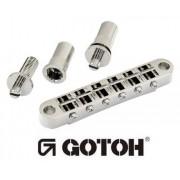Ponte Cromada para guitarra estilo Les Paul - Gotoh (GE103B-T-CR)