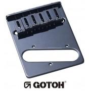 Ponte Cosmo Black estilo Tele c/ 6 carrinhos (Moderna) para guitarra - Gotoh (GTC202-CK)