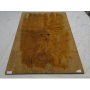 Top (tampo) de Rádica de Itaúba para guitarra/baixo nº 10 (54cm x 19,5cm x 0,7cm (2 peças))