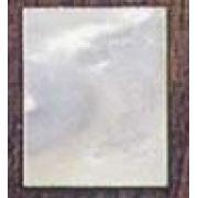 Mini placa para inlay em Madrepérola - 25mm x 37mm x 1,25mm (Spirit)