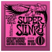 Encordoamento para guitarra Ernie Ball Super Slinky 2223 09-42 (.009)