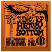 Encordoamento para guitarra Ernie Ball Skinny Top Heavy Bottom  2215 10-52 (.010)