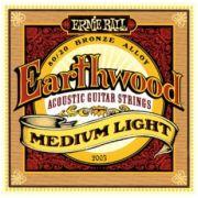 Encordoamento Ernie Ball 2003 Eartwood 80/20 Bronze Medium Light para Violão Aço 12-54 (.012)