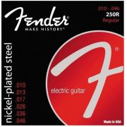 Encordoamento para guitarra Fender 250R Nickel-Plated Steel 10-46 (.010)