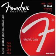 Encordoamento Fender 7250M para baixo 4 cordas (.045)