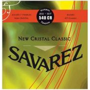 Encordoamento Savarez New Cristal Classic 540CR Tensão Normal para Violão Nylon