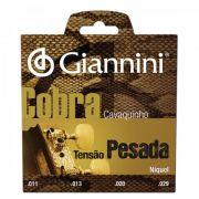 Encordoamento Giannini GESCP Série Cobra (Níquel) Tensão Pesada para Cavaquinho