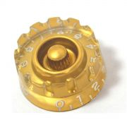 Knob Speed (c/ estrias) Dourado P/ Les Paul