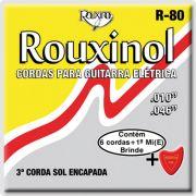 Encordoamento Rouxinol R-80 para guitarra 10-46 (.010)