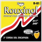 Encordoamento Rouxinol R-81 para guitarra 11-49 (.011)