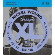 Encordoamento D'Addario EXL116 Medium Top / Heavy Bottom 11-52 (.011)