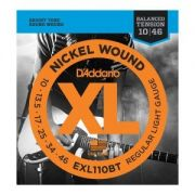 Encordoamento D'Addario EXL110BT Balanced Tension Regular Light 10-46 (.010)