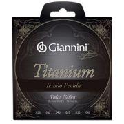 Encordoamento Giannini  GENWTA Série Titanium Tensão Pesada para Violão Nylon