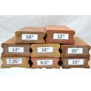 Kit de Tacos de raiar escala (8 unidades) com os raios 7.25