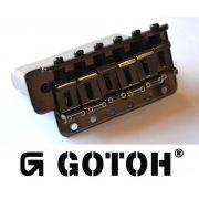 Ponte Cosmo Black Tremolo Vintage estilo Strato para guitarra - Gotoh (GE101T-CK)
