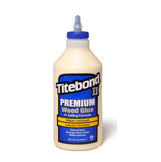 Cola Titebond II Premium Glue - 946ml  - Luthieria Brasil