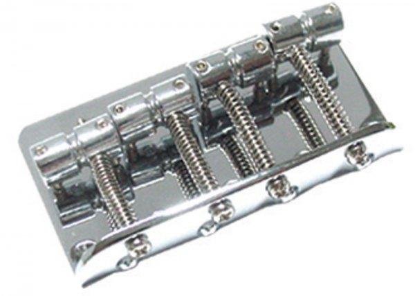 Ponte Cromada para baixo 4 cordas (19mm) - Dolphin (1277)  - Luthieria Brasil