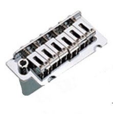 Ponte Cromada Tremolo 2 pivôs para Guitarra (Bloco 36 mm) - Sung-il (BS002)  - Luthieria Brasil