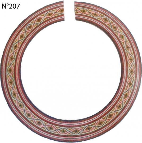 Roseta (mosaico) de madeira para violão e viola - DoMo (Japan) - DOM-207  - Luthieria Brasil
