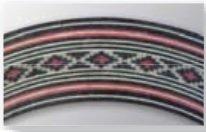 Roseta (mosaico) de madeira para violão e viola - DoMo (Japan) - DOM-206  - Luthieria Brasil