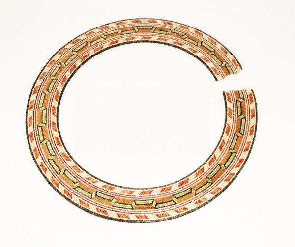 Mosaico ou roseta para violão e viola - Dolphin (5642)  - Luthieria Brasil