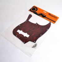 Escudo para Baixo Jazz Bass Tortoise - 3 camadas (sanduíche) - Dolphin  - Luthieria Brasil