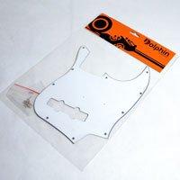 Escudo para Baixo Jazz Bass Branco - 3 camadas (sanduíche) - Dolphin  - Luthieria Brasil