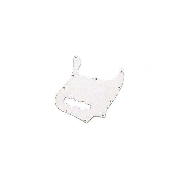 Escudo para Baixo Jazz Bass Branco PVC - 1 camada - Dolphin  - Luthieria Brasil