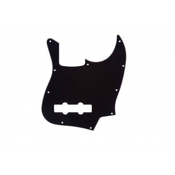 Escudo para Baixo Jazz Bass Preto PVC - 1 camada - Dolphin  - Luthieria Brasil