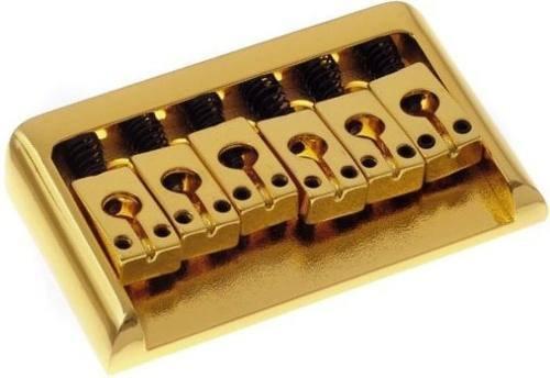 Ponte Dourada Fixa para Guitarra (Estilo PRS) - Sung-il (BN101)  - Luthieria Brasil