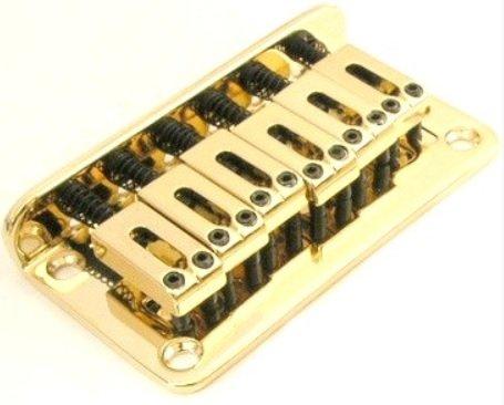 Ponte Dourada Fixa para guitarra - Sung il (BN003)  - Luthieria Brasil