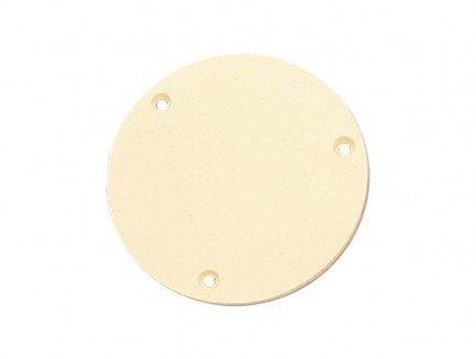 Escudo traseiro para chave Les Paul de plástico creme  - Luthieria Brasil