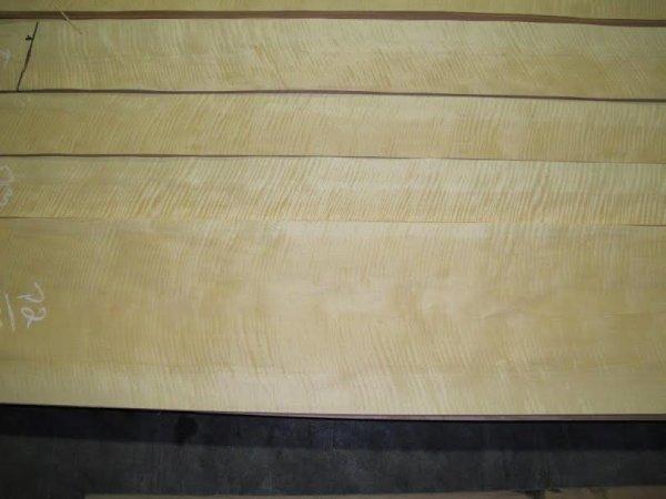 Laminado para Tampo (top) de Amapá Frizze (flamed) para guitarra/baixo (50cm x 35cm x 0,6mm - 1 peça)  - Luthieria Brasil