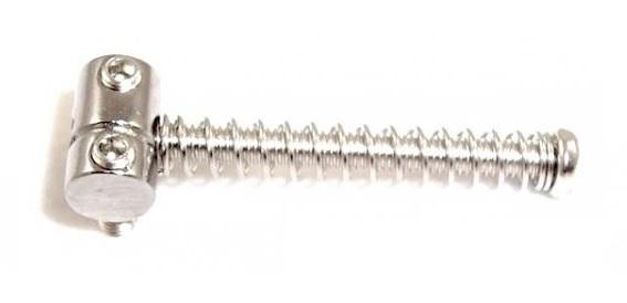 Carrinhos (saddles) cromados para guitarra Telecaster - Kit com 6 peças - Spirit (S8-108)  - Luthieria Brasil