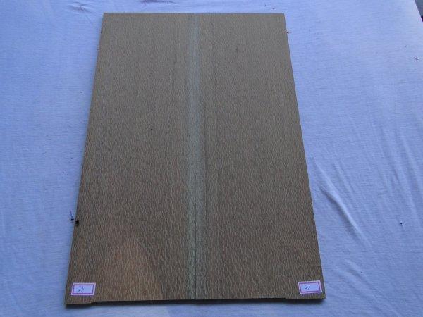 Top (tampo) de Louro faia para guitarra/baixo nº 23 (50,5cm x 17cm x 0,7cm (2 peças))  - Luthieria Brasil