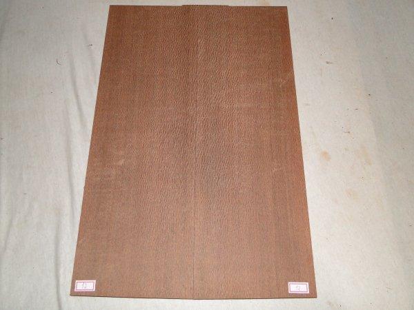 Top (tampo) de Louro faia para guitarra/baixo nº 12 (55,5cm x 18,5cm x 1,35cm (2 peças))  - Luthieria Brasil