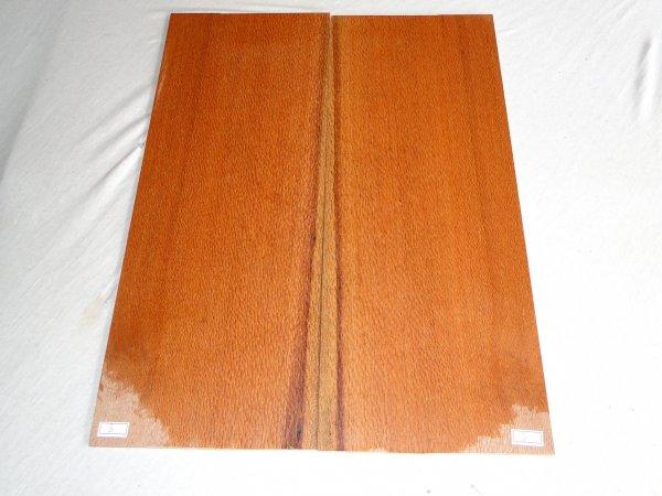 Top (tampo) de Louro faia para guitarra/baixo nº 03 (50cm x 19cm x 0,7cm (2 peças))  - Luthieria Brasil