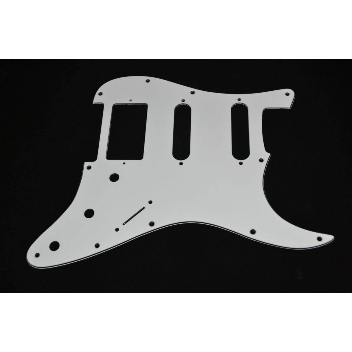 Escudo para Guitarra Stratocaster HSS Branco - 3 camadas (sanduíche) - Spirit (X110)  - Luthieria Brasil