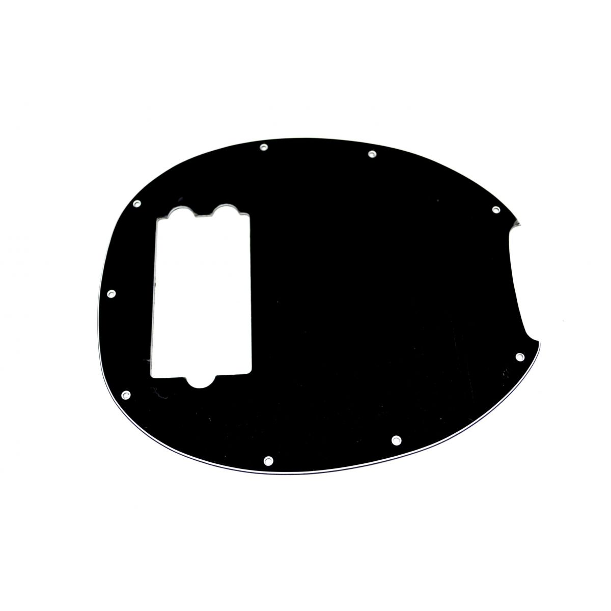 Escudo para Baixo Music Man (5 cordas) Preto - 3 camadas (sanduíche) - Spirit (X672)  - Luthieria Brasil