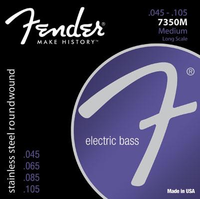 Encordoamento Fender 7350M para baixo 4 cordas (.045)  - Luthieria Brasil