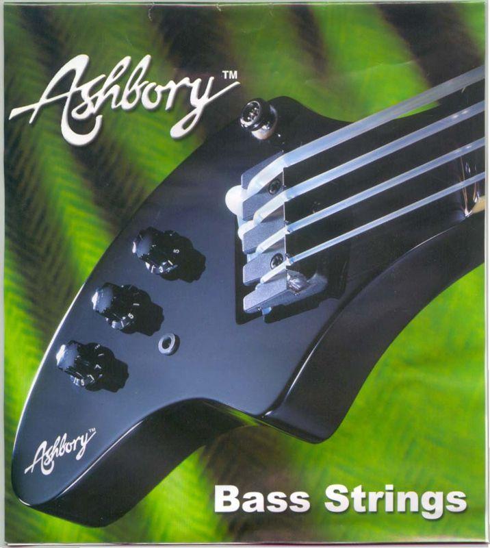 Encordoamento Fender Ashbory (Silicone) para baixo 4 cordas  - Luthieria Brasil