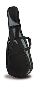 Capa (Bag) cinza com preta Profissional Hiper Luxo para Guitarra - Ibox (BG300)  - Luthieria Brasil